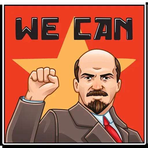 Lenin - Sticker 7