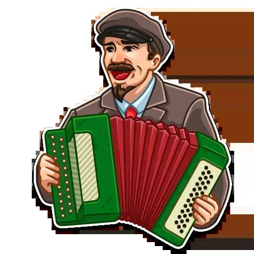 Lenin - Sticker 21