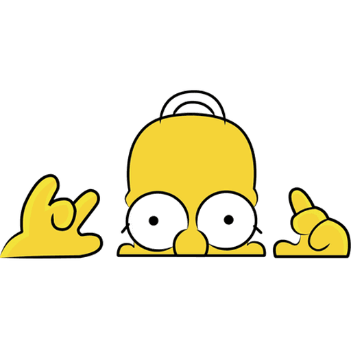 Simpson - Sticker 2