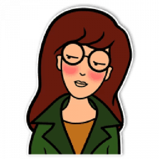Daria - Sticker 1
