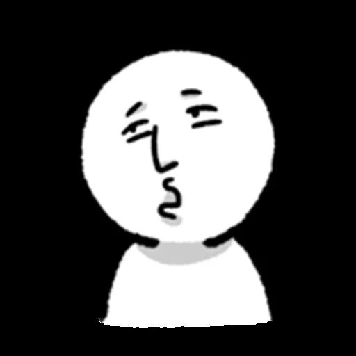 face - Sticker 24