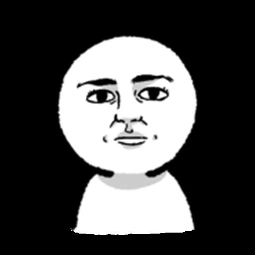 face - Sticker 19