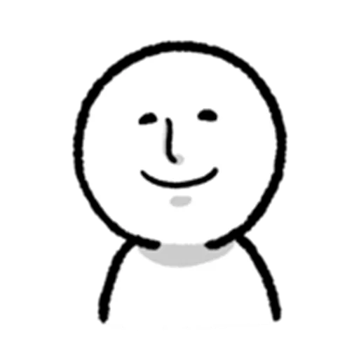 face - Tray Sticker