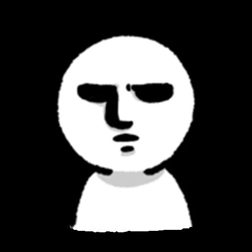 face - Sticker 22