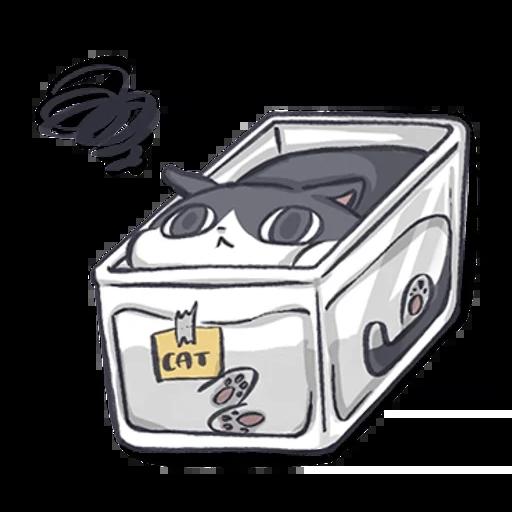 厭世貓貓 - Sticker 9