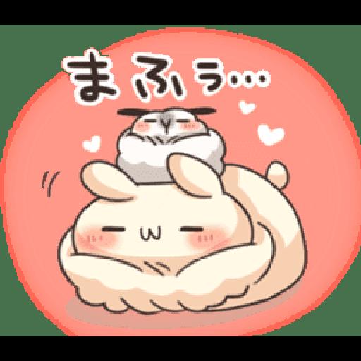 Shiro the rabbit & kuro the cat Part5 - Sticker 6