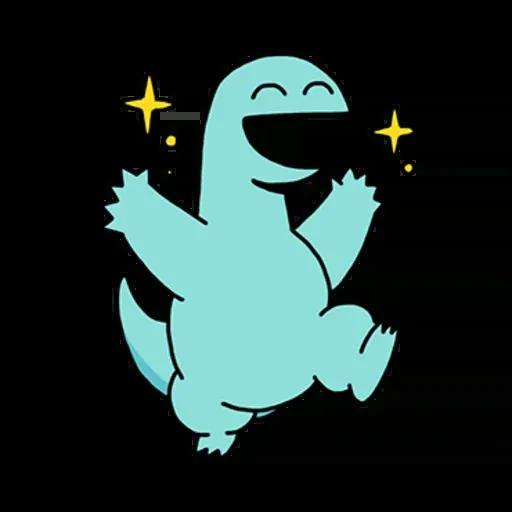恐龍 - Sticker 3