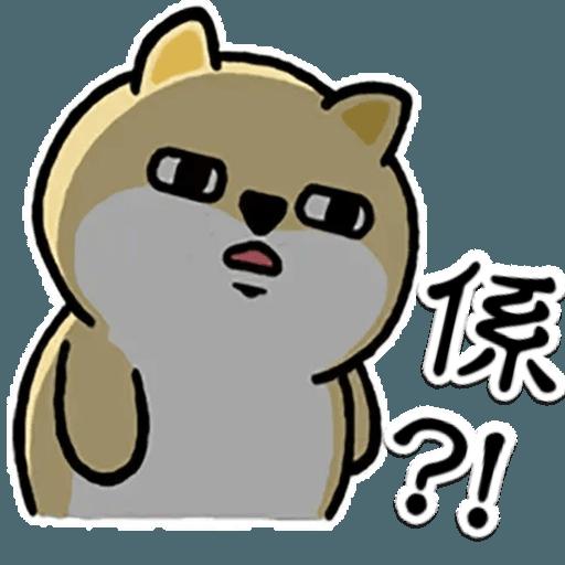 中國香港肥柴仔@5 - Sticker 4