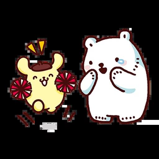 布丁狗×白白日記-2 - Sticker 5