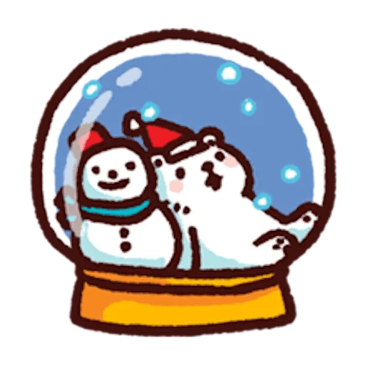 BacBac Xmas - Sticker 20