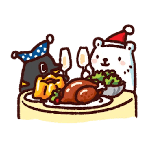 BacBac Xmas - Sticker 18