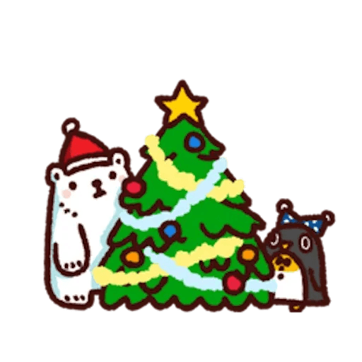 BacBac Xmas - Sticker 12