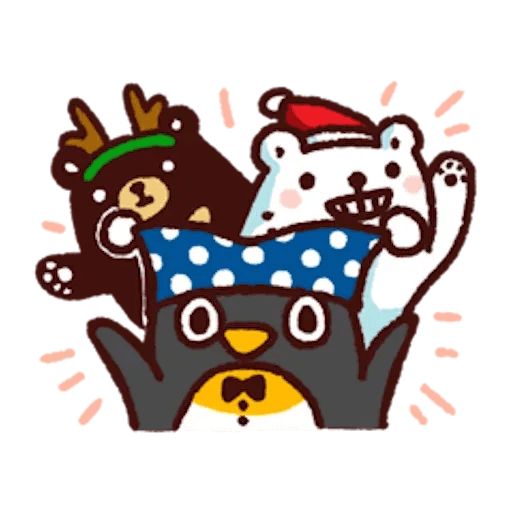 BacBac Xmas - Sticker 9