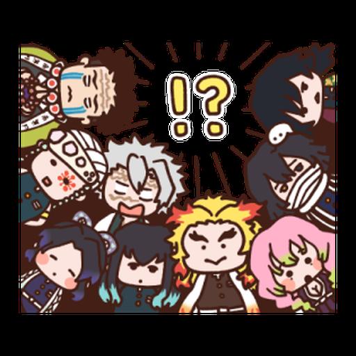Kimetsu no Yaiba Kanahei Style #2 - Sticker 1