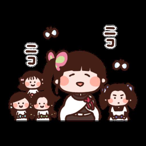 Kimetsu no Yaiba Kanahei Style #2 - Sticker 5
