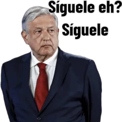 AMLO - Sticker 1