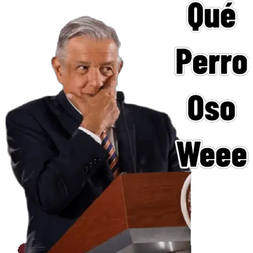 AMLO - Sticker 5