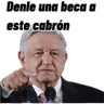 AMLO - Tray Sticker