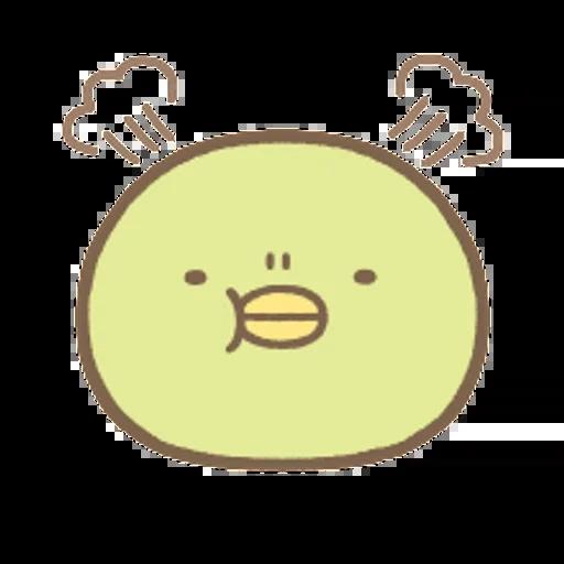 角落生物 大頭篇 - Sticker 4