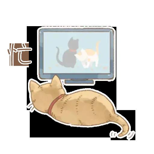 貓咪日和 - Sticker 11