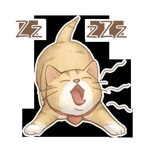 貓咪日和 - Sticker 3