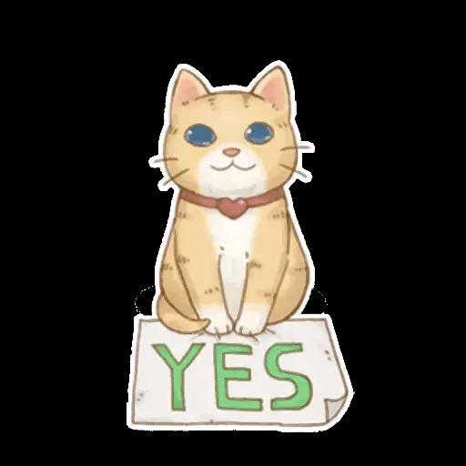 貓咪日和 - Sticker 14