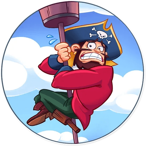 Shiver Me Timbers - Sticker 7