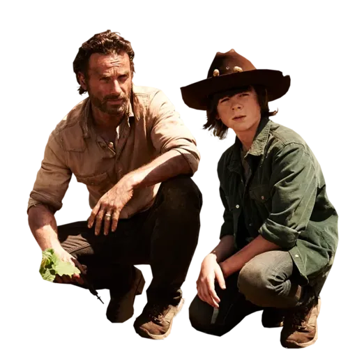 Walking dead - Sticker 9