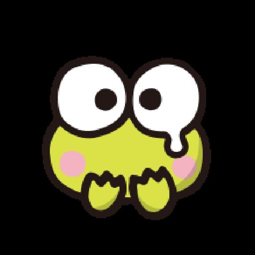 KEROKEROKEROPPI Emoji - 1 - Sticker 11