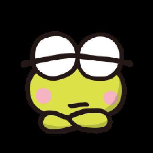 KEROKEROKEROPPI Emoji - 1 - Sticker 16