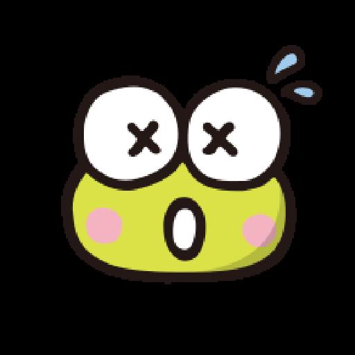 KEROKEROKEROPPI Emoji - 1 - Sticker 13