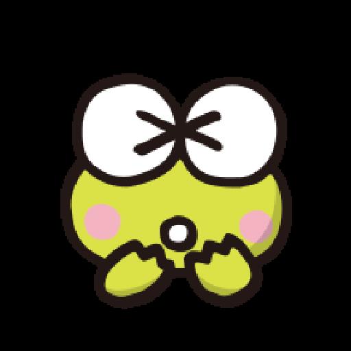 KEROKEROKEROPPI Emoji - 1 - Sticker 14