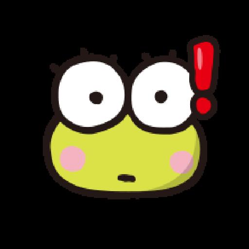 KEROKEROKEROPPI Emoji - 1 - Sticker 9