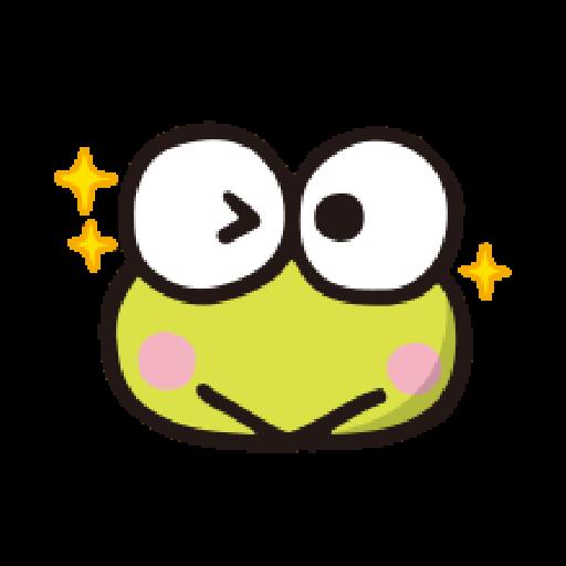 KEROKEROKEROPPI Emoji - 1 - Sticker 3