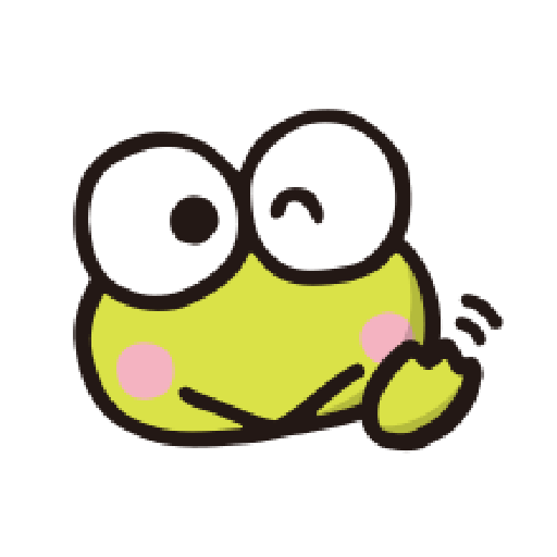 KEROKEROKEROPPI Emoji - 1 - Sticker 6