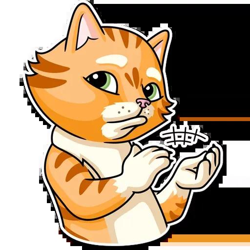 Striped Cat - Sticker 30