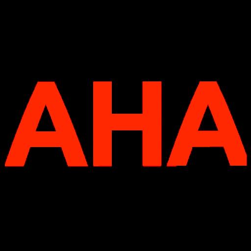 AHA - Sticker 3