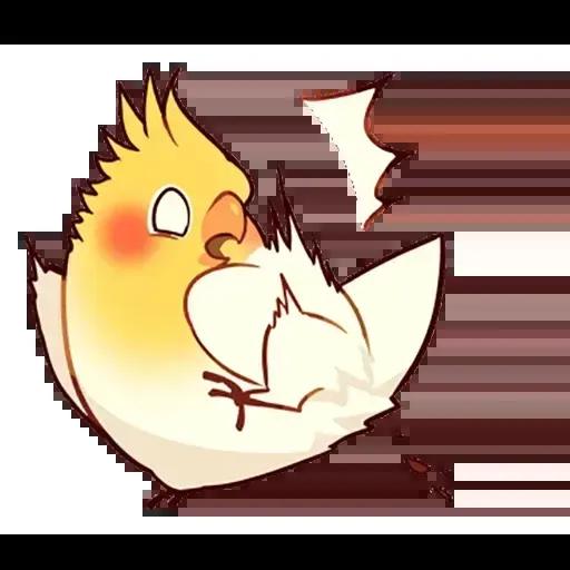 cockatiel - Sticker 2