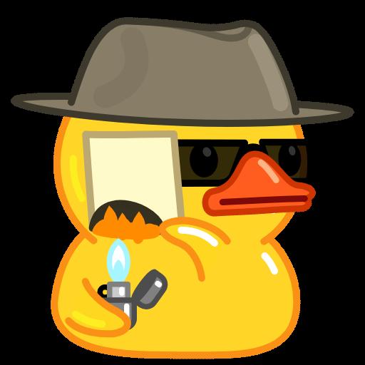 Utya Duck - Sticker 5