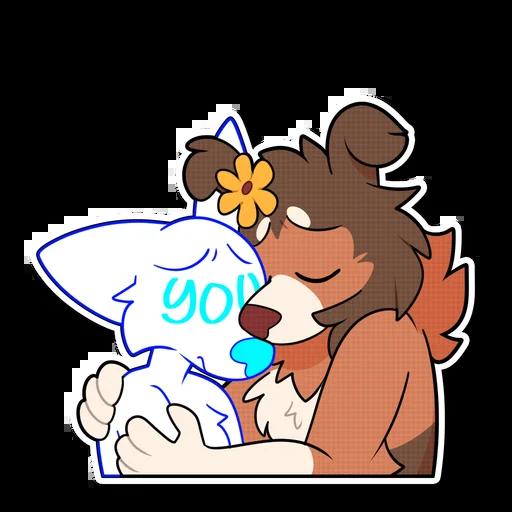 pupps - Sticker 7