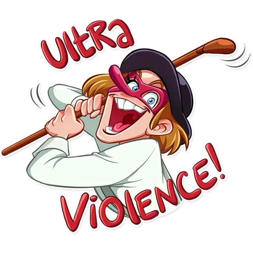 Ultra Violence - Sticker 7
