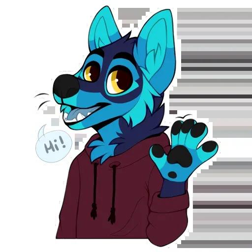 Wolf 2 - Sticker 1