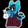 Wolf 2 - Tray Sticker