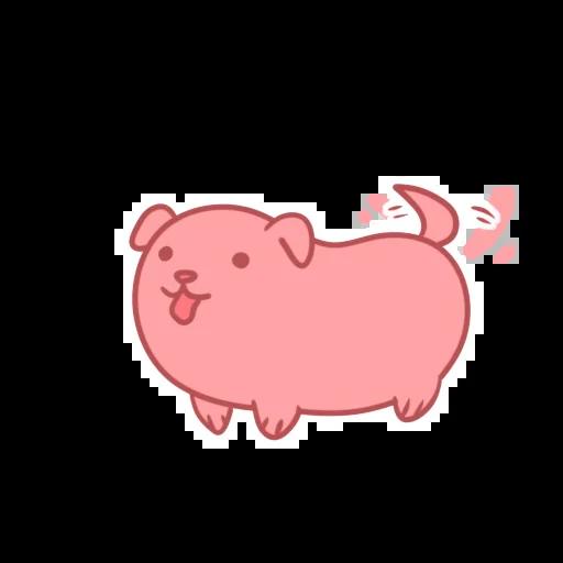 Sausage Puppy - Tray Sticker