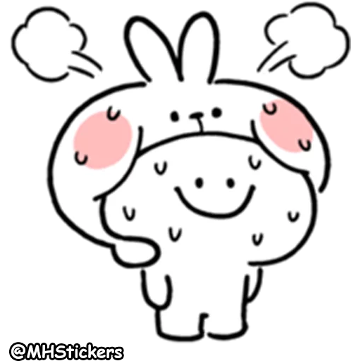 Spoiled rabbit summer 2 - Sticker 1