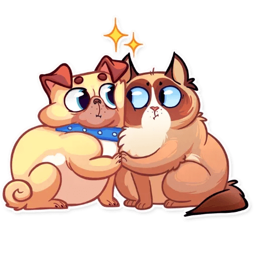 Pugford the Pug - Sticker 14