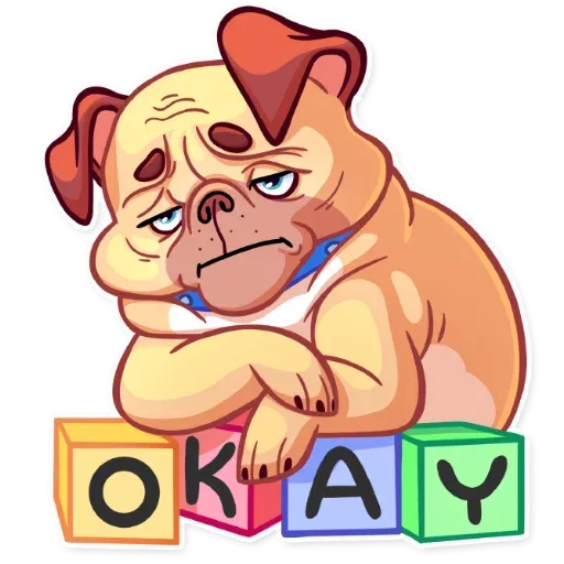 Pugford the Pug - Sticker 10
