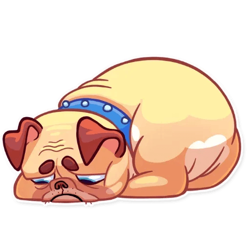 Pugford the Pug - Sticker 12