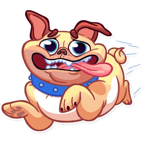 Pugford the Pug - Sticker 24