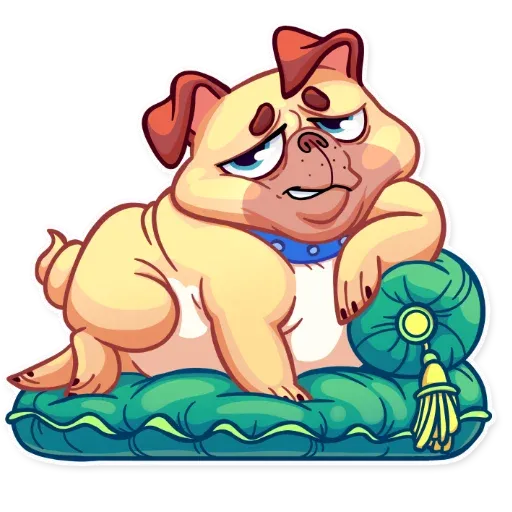Pugford the Pug - Sticker 19